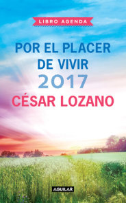 Libro agenda Por el placer de vivir 2017 / 2017 For the Pleasure of Living Agend a