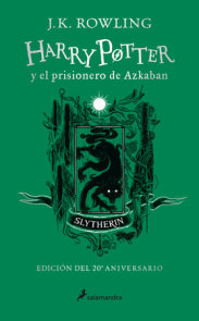 Harry Potter y el prisionero de Azkaban. Edición Slytherin / Harry Potter and the Prisoner of Azkaban Slytherin Edition