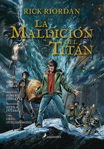 La maldición del titán. Novela gráfica / The Titan's Curse: The Graphic Novel