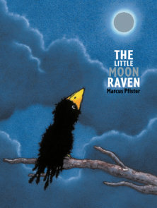 The Little Moon Raven